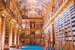 Couvent de Strahov, salle philosophique de la bibliothèque de Strahov. (© Author's Image)