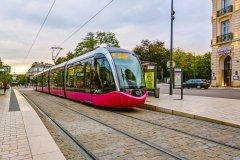 Le tramway de Dijon. (© Roka - Shutterstock.com)