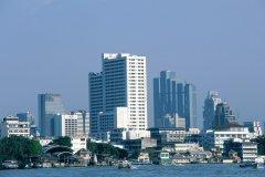 Vue générale du quartier moderne de Bangkok. (© S.Nicolas - Iconotec)
