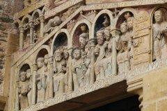Tympan de l'abbatiale Saint-Foy, Conques. (© D.Viet-CRTMP-OTCM)