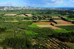 Les Alpilles vues des Baux-de-Provence (© Lawrence BANAHAN - Author's Image)