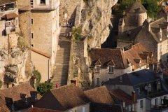 Escalier de Rocamadour. (© Lot Tourisme - C. Novello)
