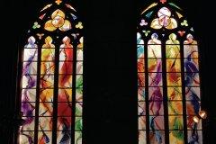 Nouveaux vitraux de la Cathédrale Saint-Paul (© Pierrick de Stexhe)