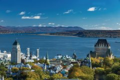 La ville de Québec au matin. (© daniel50)
