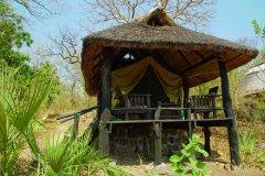 Tente du parc national de Gorongosa. (© HeckerBob - iStockphoto.com)