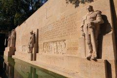 Mur des Réformateurs dans le parc des Bastions. (© Philippe GUERSAN - Author's Image)