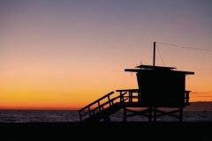 Tour de surveillance sur Venice Beach. (© David GUERSAN - Author's Image)