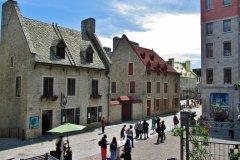 Le Vieux-Québec près de la place Royale. (© Valérie FORTIER)