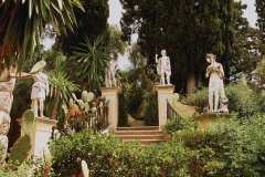 Le jardin de l'Achilleon. (© Author's Image)