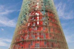 Torre Glòries, dessinée par l'architecte Jean Nouvel. (© Irène ALASTRUEY - Author's Image)