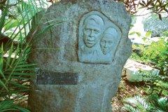 Jacques Brel repose sur l'île d'Hiva Oa (© Author's Image)