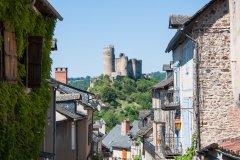 Le village de Najac. (© Weskerbe - Shutterstock.com)