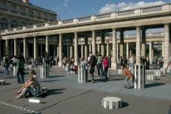 Palais-Royal et colonnes de Buren - Paris (© Stéphan SZEREMETA)