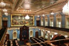 Salle de l'Assemblée nationale du Québec. (© Valérie FORTIER)