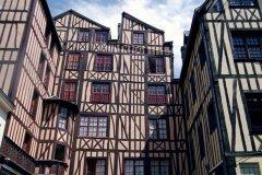 Maisons à colombages - Rouen (© XAVIER CAILHOL - INUMEDIA - FOTOLIA)