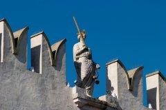 Palais prétorien, statue représentant la justice. (© Tourist Organization Koper / Archive MOK)