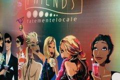 """""""Cafe Friends"""" dans le quartier de Trastevere. (© Philippe GUERSAN - Author's Image)"""