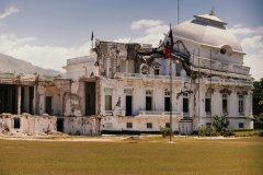 Le Palais présidentiel d'Haïti après le tremblement de terre. (© Erick4x4 - iStockphoto)