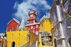 El Palacio da Pena à Sintra. (© alxpin)