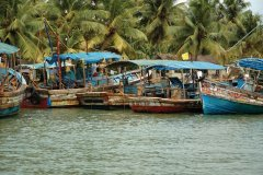 Bateaux de pêche des backwaters du Kerala. (© mchen007 - iStockphoto.com)