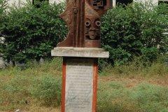 Statue d'Ouidah. (© C. THARREAU - Association 1,2,3 Déclics)