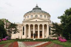 L'Athénée roumain de Bucarest. (© Stéphan SZEREMETA)