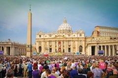 Dimanche de Pâques au Vatican. (© titoslack)