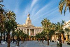 L'hôtel de ville de Cadix. (© viledevil)