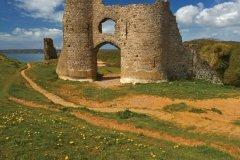 Château de Pennard. (© Loop Images / Photononstop)