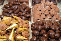 Chocolatier Neuhaus situé aux galeries royales Saint-Hubert. (© Author's Image)