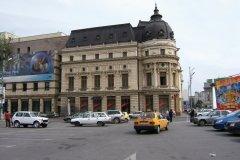Immeuble de style parisien dans le centre-ville de Bucarest. (© Stéphan SZEREMETA)