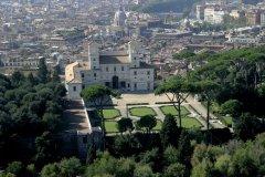 Villa Médicis et panorama de Rome. (© Picsofitalia.com)