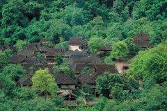 Minorité Aini dans le village de Mang Mo. (© Author's Image)