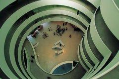 Intérieur du Guggenheim Museum. (© Tom Pepeira - Iconotec)