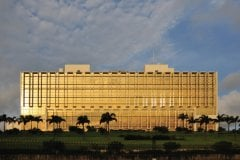 Palais présidentiel, Libreville. (© mtcurado)