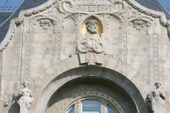 Le magnifique Palais Gresham et sa façade art nouveau. (© Stéphan SZEREMETA)