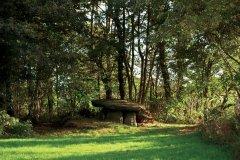 Le dolmen de la chapelle de Kérinec fait la fierté de Poullan-sur-Mer. (© Benjamin ROYER)