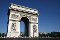 Arc de triomphe (© Stéphan SZEREMETA)