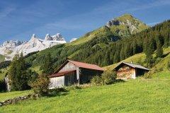 Paysage de montagne autour de Schruns. (© Netzer Johannes - Fotolia)