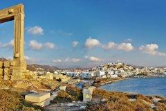 Panorama de Naxos. (© Freeartist - iStockphoto)