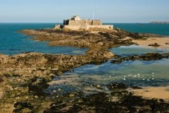 Fort national de Saint-Malo. (© Dixxipix - iStockphoto)