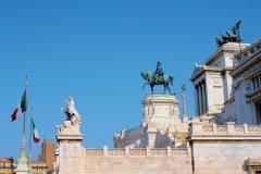 Vittoriano, monument dédié à Victor-Emmanuel II. (© Author's Image)