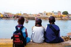 Guet-Ndar, village de pêcheurs. (© Author's Image)