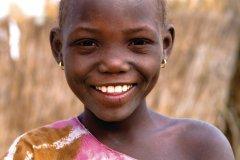 Enfant d'un village de brousse peul. (© Author's Image)