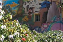 Mur peint à Valparaiso (© Arnaud BONNEFOY)