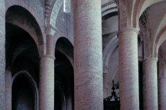 Nef et bas-côté de l'eglise Saint-Philibert