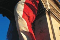 L'Arc de Triomphe, le 14 juillet - Paris (© BDLM - Iconotec)