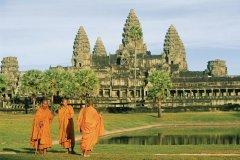 Temple d'Angkor Wat. (© Eric Martin - Iconotec)