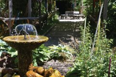 Le Jardin des sens. (© Office de Tourisme du Pays de Nexon)