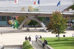 Le square François-Mitterrand (© Olivier LECLERCQ)